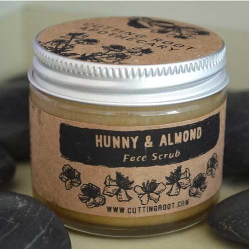 Hunny Almond Face Scrub